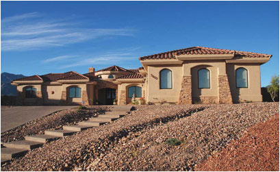 Southern arizona custom home builders sierra vista for Custom home plans arizona